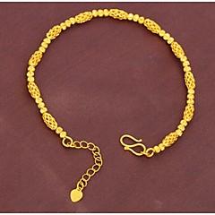 Dame Guld Kæde Armbånd Ikke-sten