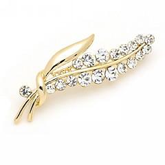女性 ブローチ ファッション 高級ジュエリー ラインストーン イミテーションダイヤモンド 合金 ジュエリー 用途 結婚式 パーティー 誕生日 日常 カジュアル