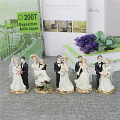 The Bride And Groom Cake Topper-2(Small and Medium-Sized)
