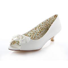 Women's Wedding Shoes Heels / Peep Toe Sandals Wedding / Party & Evening / Dress Ivory