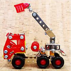 Legpuzzels 3D-puzzels / Metalen puzzels Bouw blokken DIY Toys Vrachtwagen 169pcs Metaal Zilver Modelbouw & constructiespeelgoed