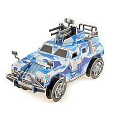 ジグソーパズル 3Dパズル ペーパーモデル ビルディングブロック DIYのおもちゃ ペーパー ブラウン プラモデル&組み立ておもちゃ