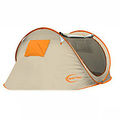 KEUMER 2人 テント シングル 自動テント 1つのルーム キャンプテント 1500-2000 mm 防風 防雨 抗虫 超軽量(UL)-キャンピング&ハイキング サイクリング 狩猟 旅行-