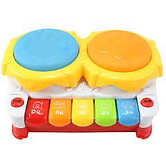 핸드 드럼 빛까지 다기능 플라스틱 다채로운 음악 장난감