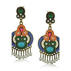 Drop Earrings Women's Resin / Alloy / Acrylic Earring Rhinestone