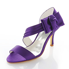 Women's Wedding Shoes Heels / Round Toe Sandals Wedding / Party & Evening / Dress Purple