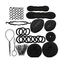 Clips / Elastiek & Band / Haarbanden Others Decoratie Lichtgewicht Zwart Fade Chemisch behandeld / Droog / Normaal / Olierijk other
