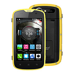 "Kenxinda PROOFINGS W5 4.0 "" Android 5.1 Smartphone 4G ( Chip Duplo Quad Core 5 MP 1GB + 8 GB Cinzento / Amarelo )"