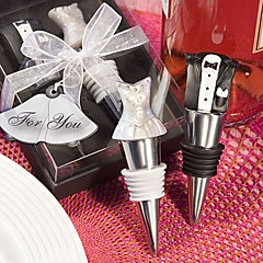 """Cheers to a Great Combination"" Wine Set Wedding Guest Favors"