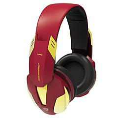 E-blue EBT910 Iron Man 3 Wireless Bluetooth 4.0 Over EarHeaadphones for Gaming
