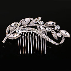 zilver kristallen parel haren kammen voor dame bruiloft sieraden
