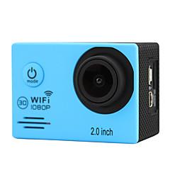 OEM SJ7000 Action Camera / Sports Camera 3MP 640 x 480 / 2048 x 1536 / 2592 x 1944 / 3264 x 2448 / 1920 x 1080 / X 2736 3648WIFI / ミニスタイル