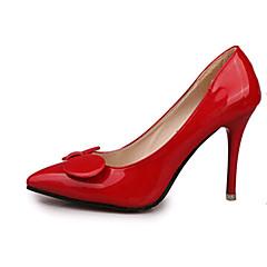 Women's Shoes PU Stiletto Heel Wedding / Outdoor / Office & Career / Party & Evening /CasualBlack / Blue / Green