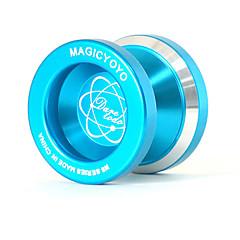 Magie Yoyo n8 blau-Legierung Aluminium-Profi Jo-Jo-klassisches Spielzeug Bildungs-Spielzeug für Spieler