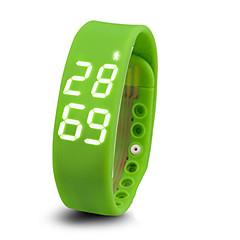 Pulseira Inteligente / Monitor de AtividadeSaúde / Esportivo / Calorias Queimadas / Apresentação da Temperatura / Impermeável /