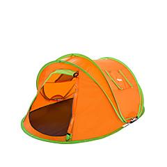 אוהל-עמיד למים / נשימה / מוגן מגשם / עמיד לאבק / נגד חרקים / עמיד ברוח / מאוורר היטב / Keep Warm / ללא חשמל סטטי(כחול / כתום / כחול שמיים,