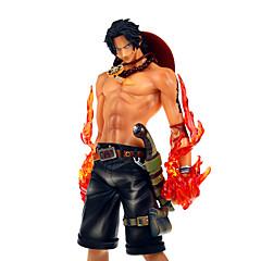 נתוני פעילות אנימה קיבל השראה מ One Piece Ace PVC 20 CM צעצועי דגם בובת צעצוע