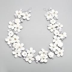Femme / Jeune bouquetière Strass / Alliage / Imitation de perle Casque-Mariage / Occasion spéciale Serre-tête 1 Pièce