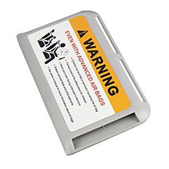boîte de rangement de support de carte de visite titulaire de la carte de la carte de stationnement temporaire haute vitesse cartes soleil