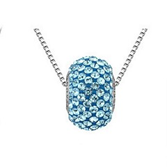 Thousands of colors  Women's Alloy Necklace Daily Crystal-1-888