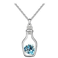 Thousands of colors  Women's Alloy Necklace Daily Crystal-1-562