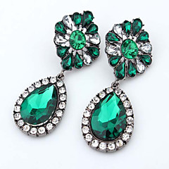Boutique Fashion Small Fresh Flowers Retro Female Drop Earrings Wedding