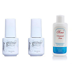 yemannvyou®special fortrinsret kombination nail art uv top coat gel& primer base coat& sæbe plus