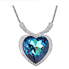Thousands of colors  Women's Alloy Necklace Daily Crystal-1-523