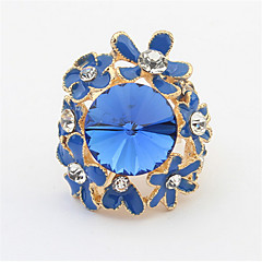 YW   European And American Fashion Personality Lovely Temperament Ring