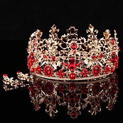 Dame Krystall / Legering / Imitert Perle Headpiece-Bryllup / Spesiell Leilighet / Utendørs Diademer 2 deler