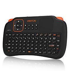 mini 2,4 g fly gaming luft mus trådløst tastatur fjernkontroll for pc laptop skrivebordet med touchpad