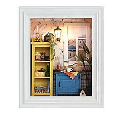 diy cabane chi fun house photo aube chaude cadre valentines créatifs cadeaux de jour des cadeaux faits à la main
