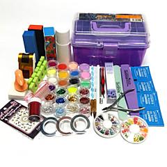 35 Sets Nail Kit Nail Art Decoration Accessories Nail DIY Nail Polish Kit