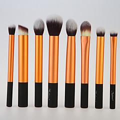 8 Stk. Brush Sets Syntetisk Hår Ansigt Læbe Øjne Sedona