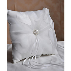 Ring Pillow Satin Vegas Theme / Asian Theme / Fairytale ThemeWithRibbons