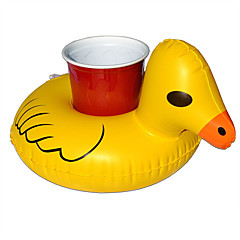 물 놀이기구 게임 장난감 오리 PVC 화이트 아동용 3 위