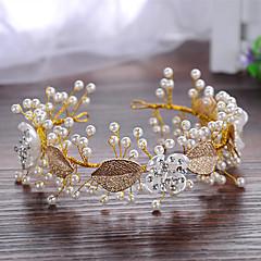 The Pearl Leaves Bride Headwear Decoration