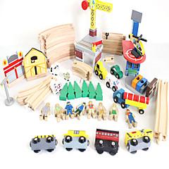 электрический многослойный головоломки игрушка городской рельсовое транспортное средство большой свет музыка для детей
