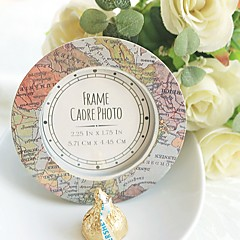 Recipient Gifts - 1Piece/Set - World Map Photo Frame Escort Place card holder wedding  décor, Party Reception