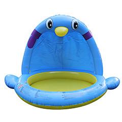 물 놀이기구 야외 장난감 펭귄 PVC 브라운 아동용 전체