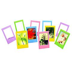 cornici tavolo foto 3 pollici / frame mini per Fujifilm Instax mini 8 / 7s / 90/25 / '50 / 70 film, 10 pack