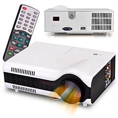 HTP® Led-2+ LCD Home Theater Projector SVGA (800x600) 1500lm LED
