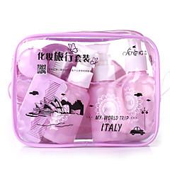 Fenlin ® Super Travel Makeup Set Towel+Teethbrush+Bottles 10 in One Set Random Color