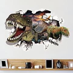 Fantasie Wand-Sticker 3D Wand Sticker Dekorative Wand Sticker,PVC Stoff Repositionierbar Haus Dekoration Wandtattoo
