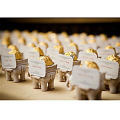 Geschenkboxen(Elfenbeinweiß,Kartonpapier) -Nicht personalisiert-Hochzeit / Jubliläum / Brautparty / Babyparty / Quinceañera & Der 16te