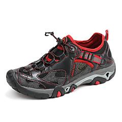 טיפוס / הליכת נעלי הליכת הקיץ של גברים אחרים / סתיו כריש נגד חלקה / אנטי נעליים צהובות / כחול 39-44