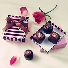 Bridesmaids / Bachelorette / Recipient Gifts Chocolate Tealight Holder Wedding décor, Candle Holder Bridal Shower Favors