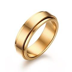 Heren Bandringen Modieus Kostuum juwelen Roestvast staal Sieraden Voor Bruiloft Feest Dagelijks Causaal Kerstcadeaus