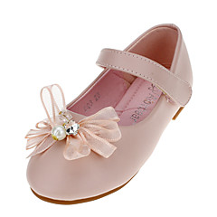 Girl's Flats Spring / Fall Flats Leatherette Wedding / Outdoor / Party & Evening / Dress / Casual Flat Heel Magic Tape