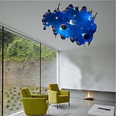 Fantasie Wand-Sticker Flugzeug-Wand Sticker Dekorative Wand Sticker,PVC Stoff Repositionierbar Haus Dekoration Wandtattoo